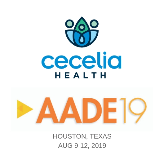 Cecelia Health to recruit CDEs at AADE19, August 9-12th. Apply online today and meet our team at the conference!