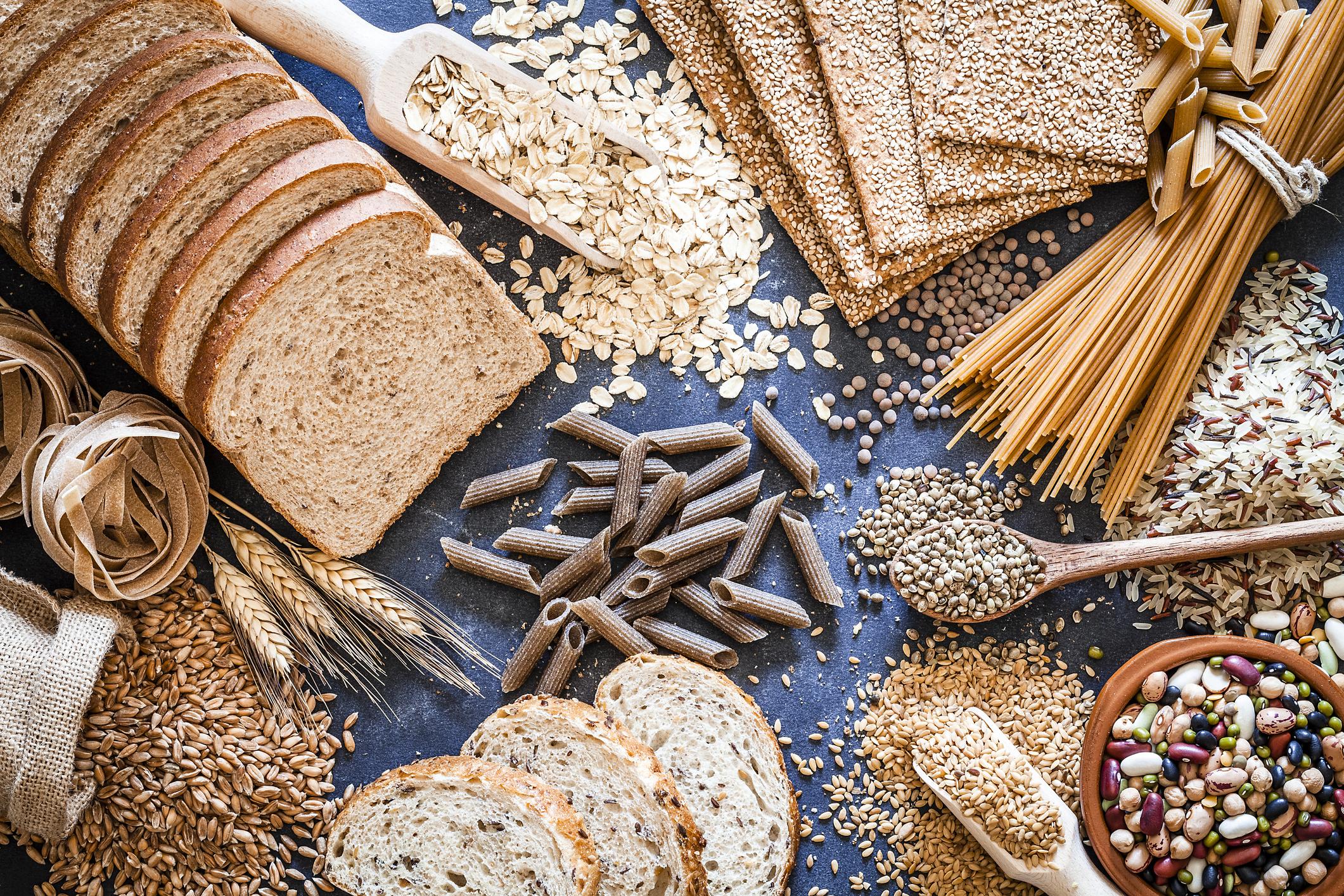 Los carbohidratos y el control del azúcar en la sangre